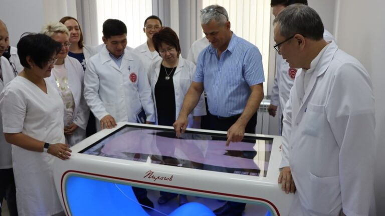 """New opportunities for working on the interactive table """"Pirogov"""""""