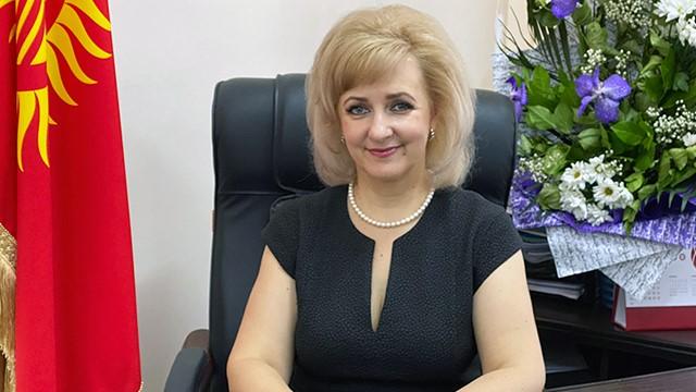 Greetings words from the Rector of IUK – Savchenko Elena