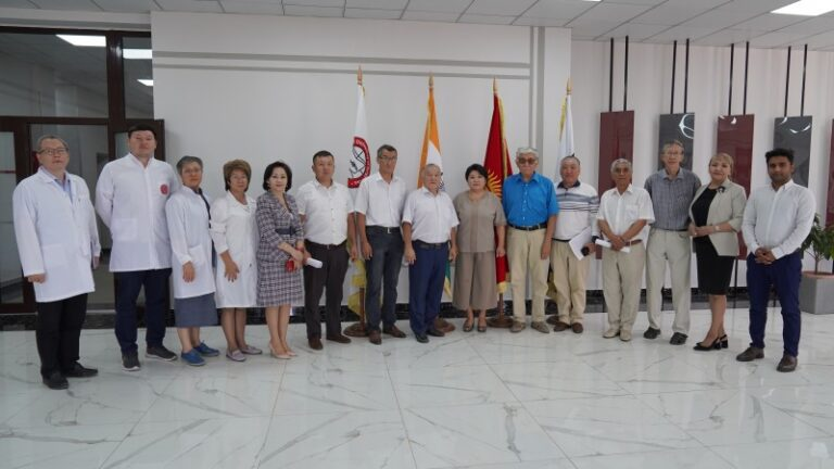 Meeting of ISM management with foreign stakeholders