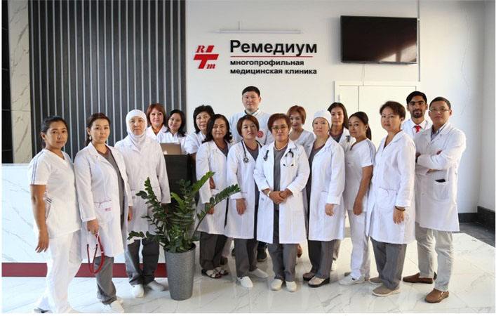 Opening of the University Clinic of the International University of Kyrgyzstan